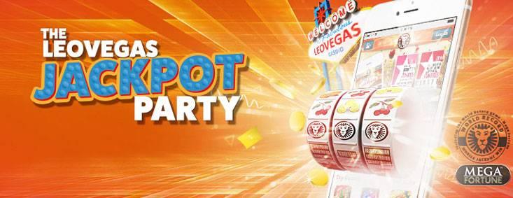 LeoVegas Casino Jackpot