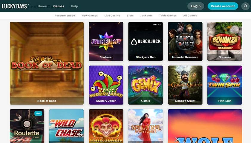 Lucky Days Casino Reviews
