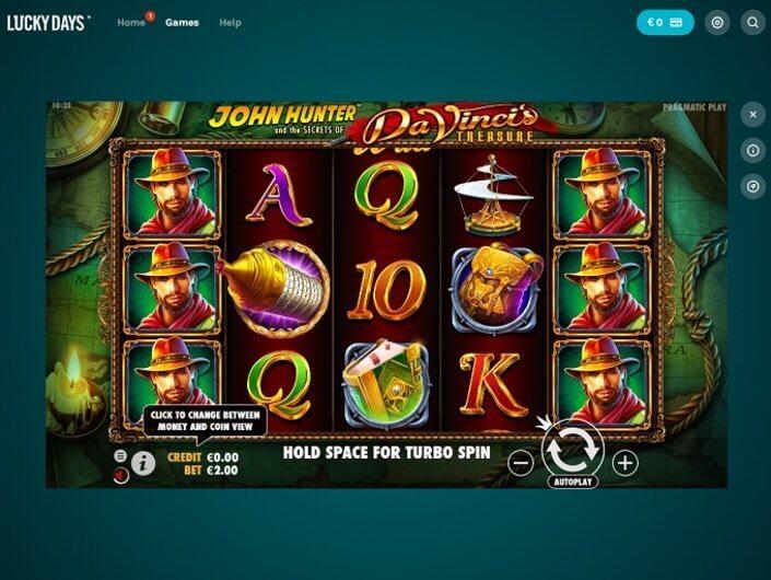 Lucky Days Casino Slots