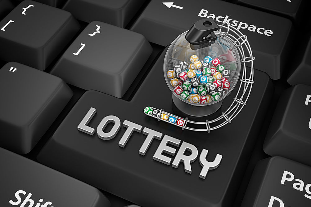 Signup with Online Lottery Website