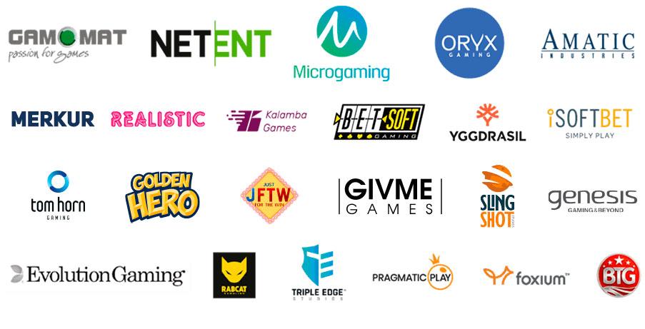 Best Casino Game Providers