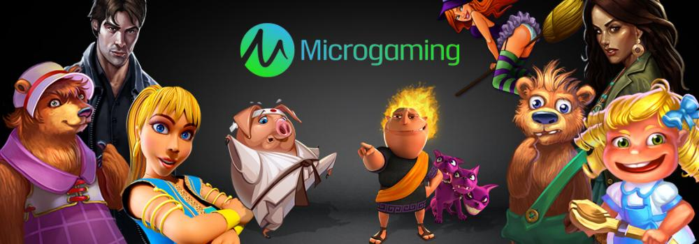 Microgaming Slots & Jackpot Games