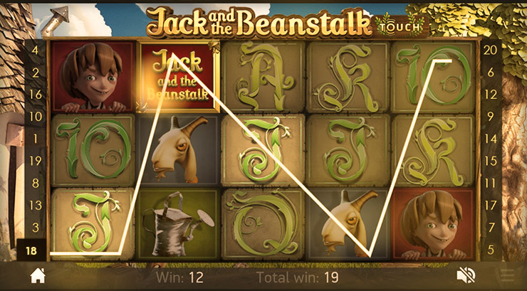 How to play Jack and the Beanstalk Touch