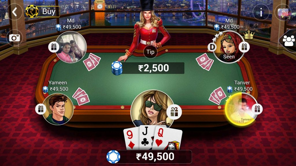 Play Teen Patti Game For Real Money vs Free