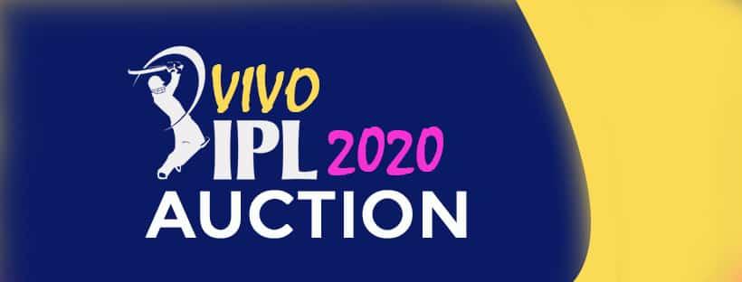 Dream 11' IPL 2020 Auction