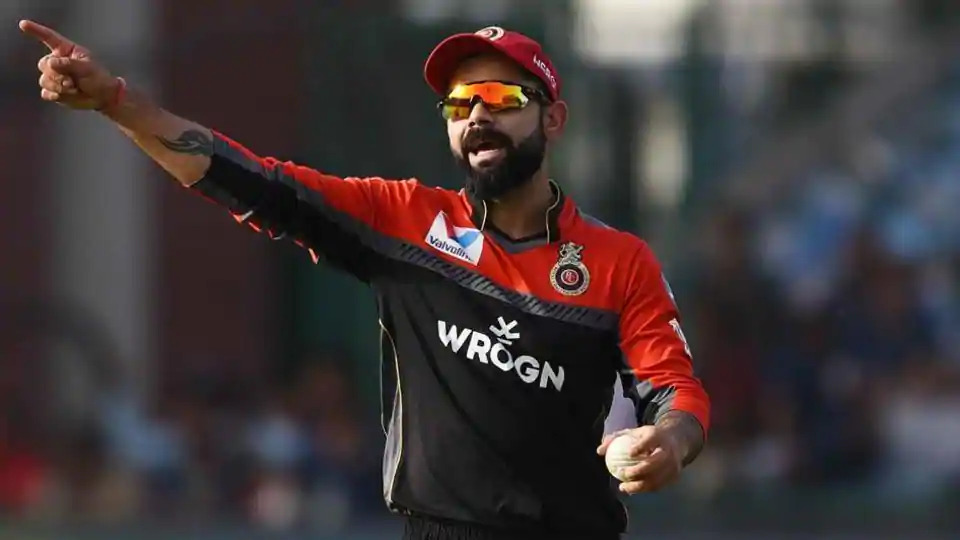 IPL-2020-Fined-Kohli-with-12-lakh-Rupees-for-Slow-Over-Rate-against-KXIP