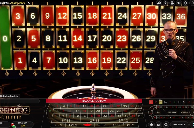 Lightning Roulette Bets, Lucky Numbers and Payouts