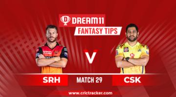 IPL 2020, Match 29: SRH vs.CSK; Who will win Today?