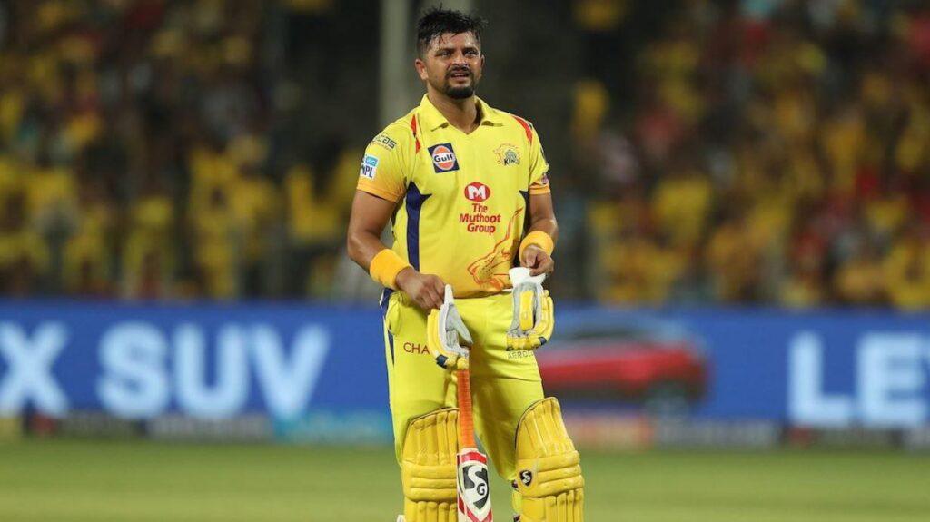 Suresh Raina is no longer a part of IPL 2020