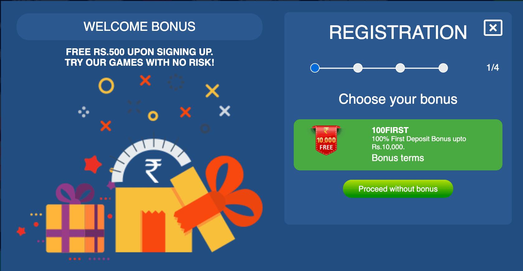 The Incredible Welcome Bonus from JungleRaja
