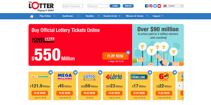 The Lotter: #1 Online lottery Company Reviews