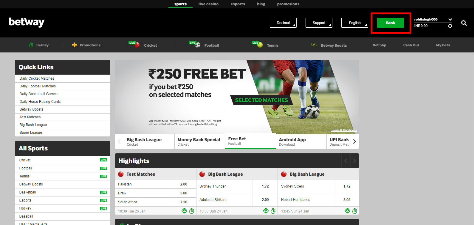 How to deposit on Betting Sites?