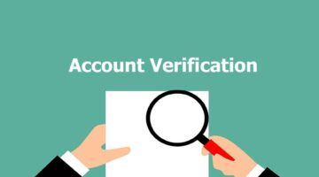 What is account verification and how to do it